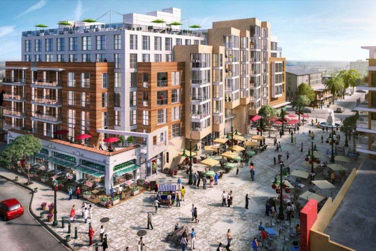 Community Support for Real Estate Developer